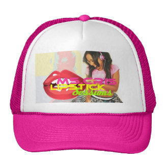 Ms.Cris Lipstick Sessions Trucker Hat