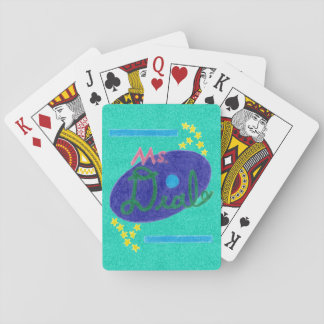 Ms. Deal Soda Branded Playing Cards