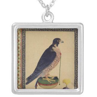 Ms E-14 Falcon, from a Moraqqa Silver Plated Necklace