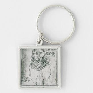 Ms Fr 19093 fol.24v Lion and Porcupine Key Ring