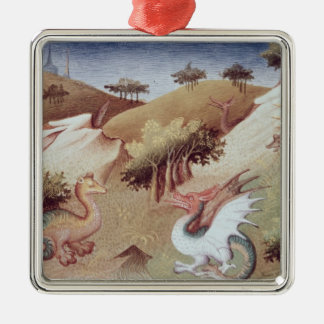 Ms Fr 2810 f.55v Dragons and other beasts Christmas Ornament