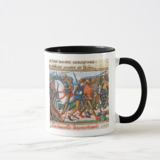 Ms Fr 5054 f.11 The Battle of Agincourt, 1415, fro Mug