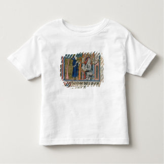 Ms Fr. 95 f.268 Merlin dictates the story to Blais Toddler T-Shirt