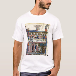 Ms Fr 95 f.326 King Arthur and his Knights around T-Shirt