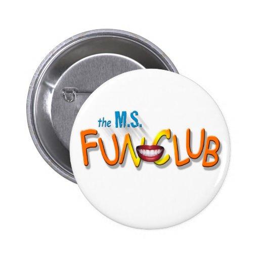 MS Fun Club Crest button