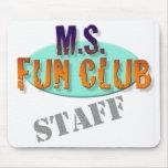 MS Fun Club Staff mousepad
