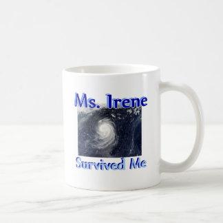 Ms Irene Survived Me Mug