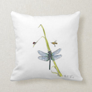 Ms. Ladybug Meets Mr. Honeybee polyester pillow