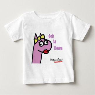Ms Llama 'Ooh La Llama' Baby T-Shirt