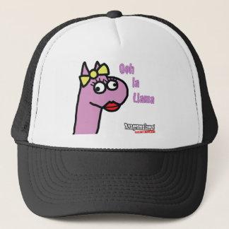 Ms Llama Trucker Hat