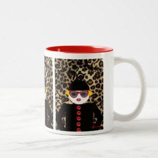 Ms. Martzkin A La Mode Close-Up Mug