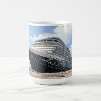 MS Nieuw Amsterdam Cruise Ship on Aruba Coffee Mug