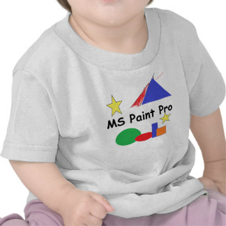 MS Paint Pro- Toddler Tee Shirt