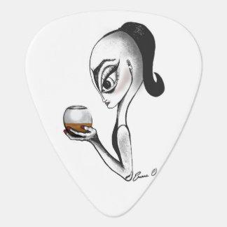 Ms. Pepper, Alien Lady guitar pick! Guitar Pick