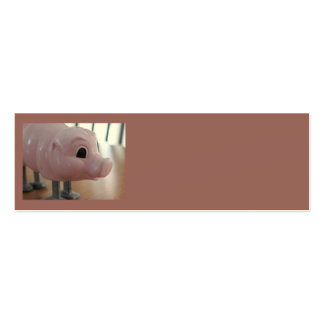ms PIGGY skinny card! Pack Of Skinny Business Cards