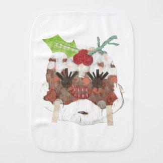 Ms Pudding Burp Cloth