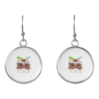 Ms Pudding Earrings