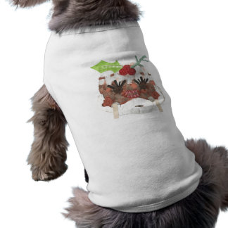 Ms Pudding No Background Doggy T-Shirt