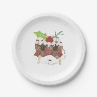 Ms Pudding Paper Plate