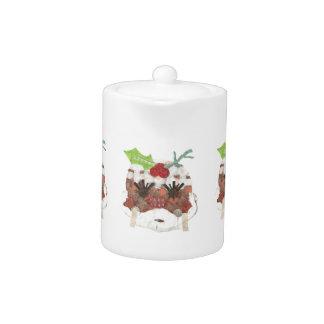 Ms Pudding Teapot