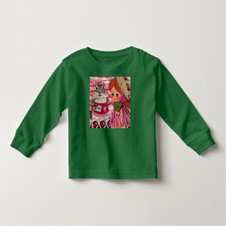 Ms. Riddle Visits Ms. Elizabeth Toddler T-Shirt