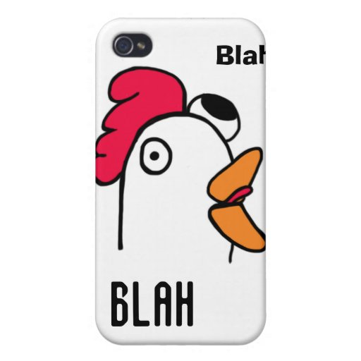 Ms Rude Chicken Head IPhone Case iPhone 4 Cover