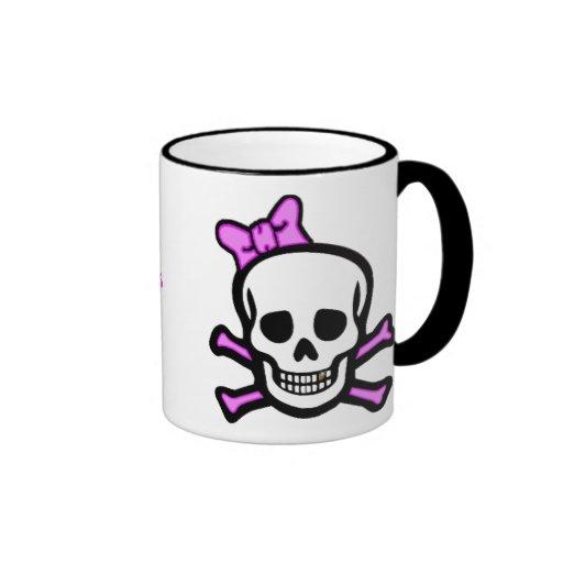 Ms. Skull & Bones Mug