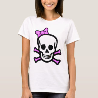 Ms. Skull & Crossbones with Gold Tooth T-Shirt