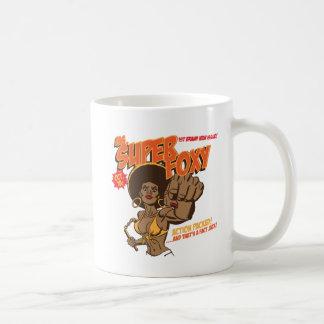 Ms. Super Foxy Coffee Mugs