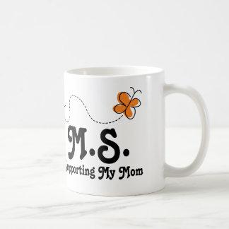 MS Supporting My Mom Basic White Mug