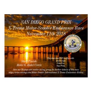 MSILSF San Diego Grand Prix Postcard