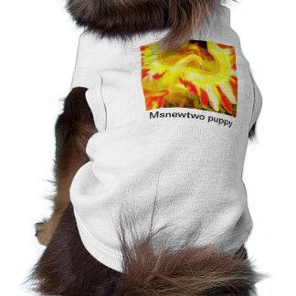 msnewtwo puppy dog t-shirt