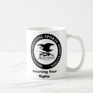 MSSA LOGO, Asserting Your Rights Basic White Mug