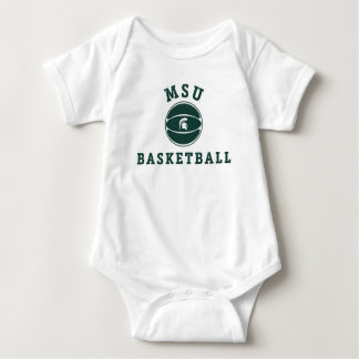 MSU Basketball | Michigan State University 2 Baby Bodysuit