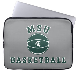 MSU Basketball | Michigan State University 4 Laptop Sleeve