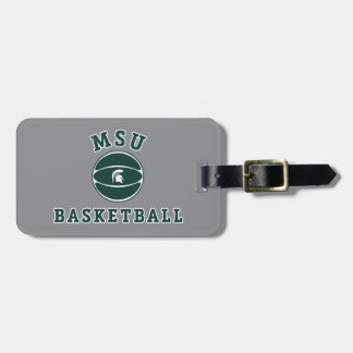 MSU Basketball | Michigan State University 4 Luggage Tag