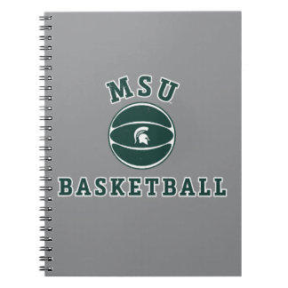 MSU Basketball | Michigan State University 4 Spiral Notebook