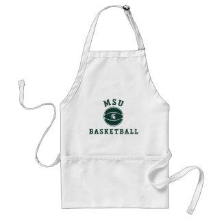 MSU Basketball   Michigan State University Standard Apron