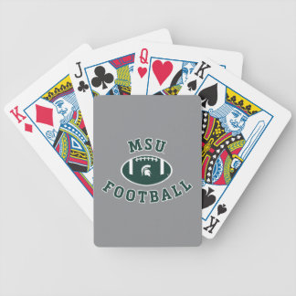 MSU Football | Michigan State University 4 Bicycle Playing Cards