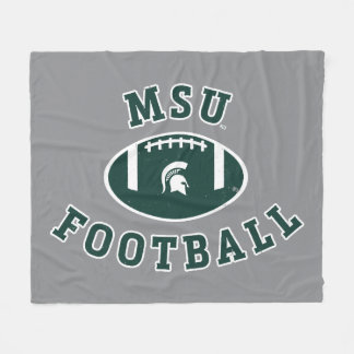 MSU Football | Michigan State University 4 Fleece Blanket