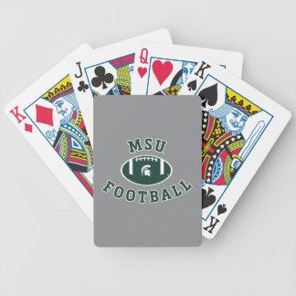 MSU Football | Michigan State University 4 Poker Deck