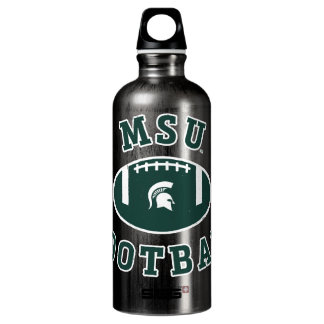 MSU Football | Michigan State University 4 Water Bottle