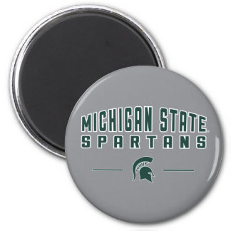 MSU Pennant | Michigan State University 4 Magnet