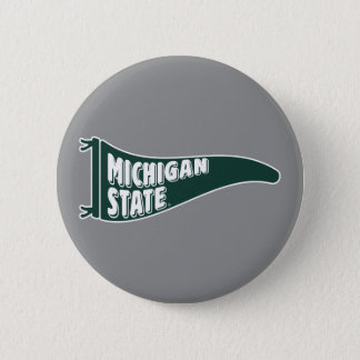MSU Spartans | Michigan State University 4 6 Cm Round Badge
