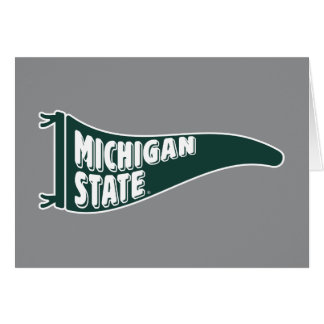 MSU Spartans | Michigan State University 4 Card