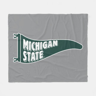 MSU Spartans | Michigan State University 4 Fleece Blanket