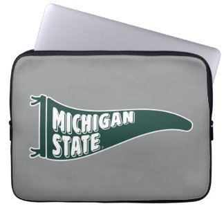 MSU Spartans | Michigan State University 4 Laptop Sleeve