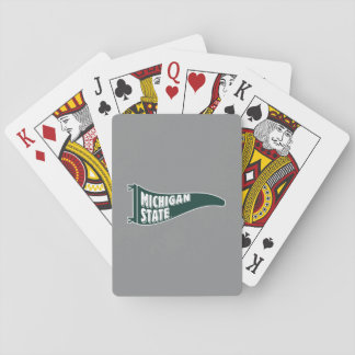 MSU Spartans | Michigan State University 4 Playing Cards