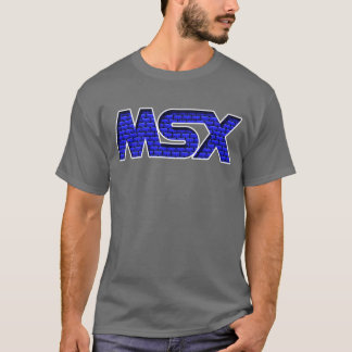 MSX Brick Wall T-Shirt