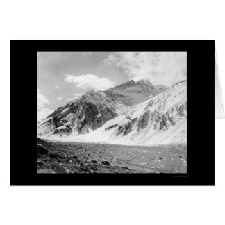 Mt. Aconcagua in Argentina 1902 Greeting Card